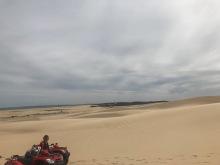 sand dunning